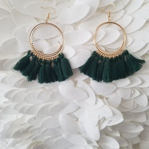 Jewelry - DIVA TASSEL EARRINGS NEW
